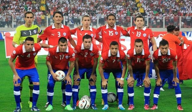 Formación de Chile ante Perú, Clasificatorias Brasil 2014, 22 de marzo de 2013