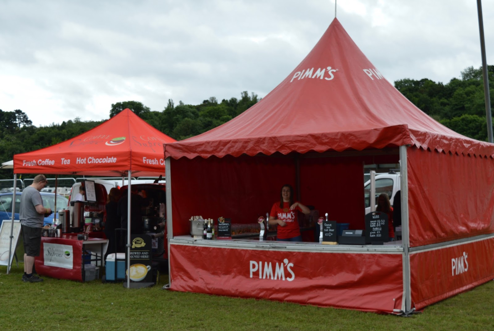 Corbridge Festival 2016 - pimms tent & Corbridge Festival 2016 - A Review | North East Family Fun