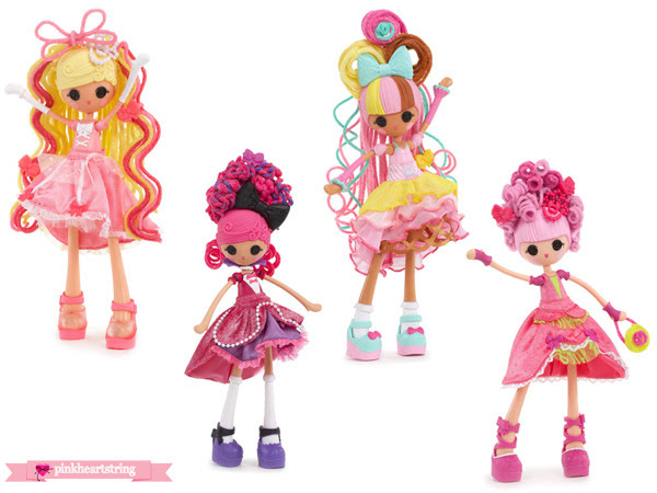 Be a Hairstylist With the Lalaloopsy Girls Crazy Hair Dolls