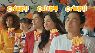 Jollibee's latest ad showcases its best-selling crispy-sarap fries!