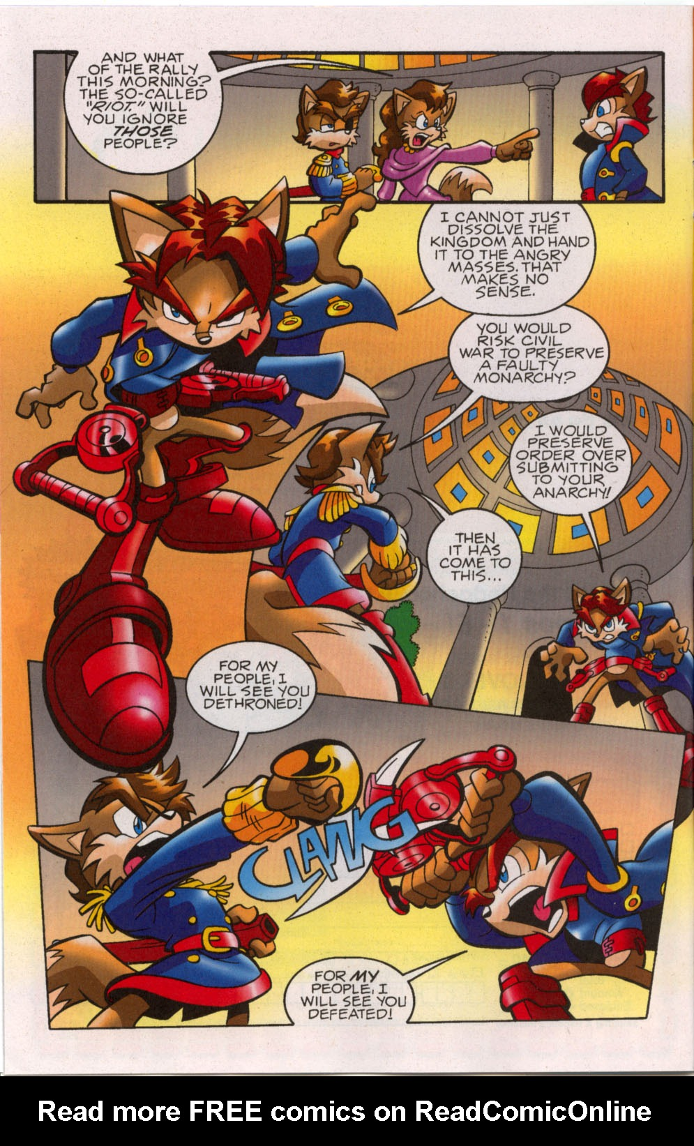 Read online Sonic The Hedgehog comic -  Issue #179 - 7