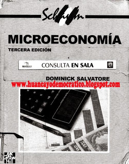 Libro de microeconomia de dominick salvatore