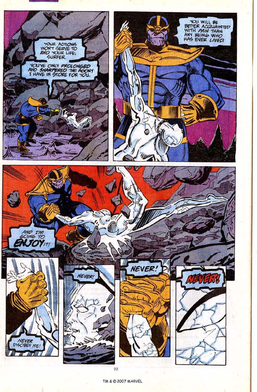 Read online Silver Surfer (1987) comic -  Issue #56 - 24