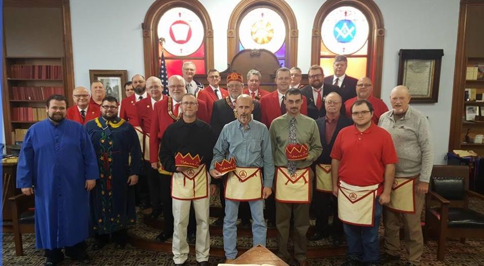 The Midnight Freemasons September 2017