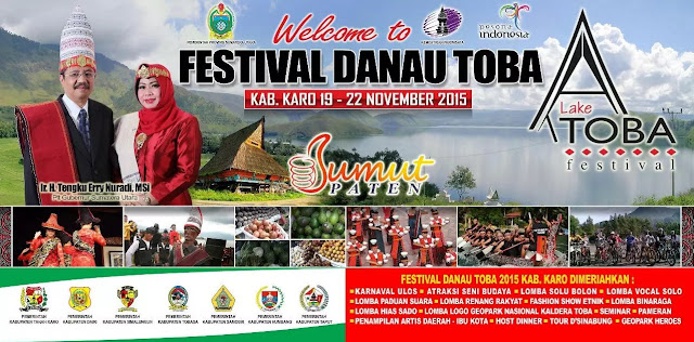 Tanah Karo Tuan Rumah Festival Danau Toba 2015
