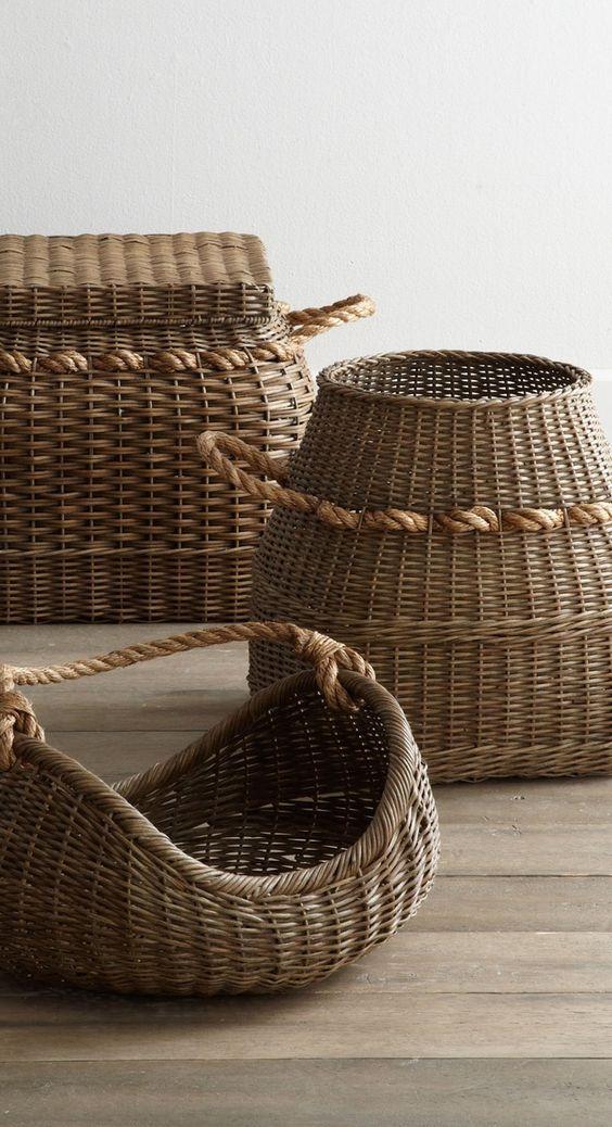 decorar con cestas ana oval