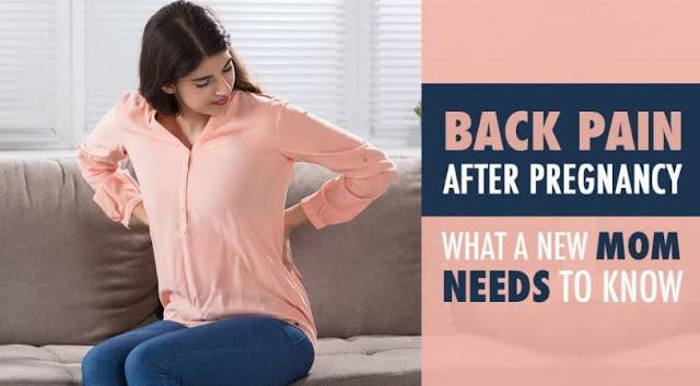 Cara Mengatasi nyeri punggung setelah melahirkan