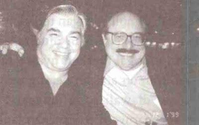 Aaron Russo terlihat besama Rockefeller