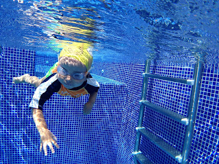 Swimming Cozumel