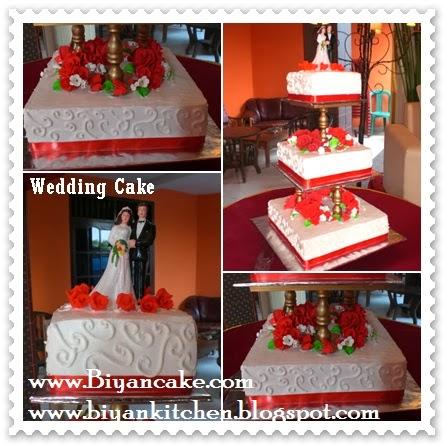 Biyancakes Toko Kue Di Bekasi Wedding Cake Merah Putih