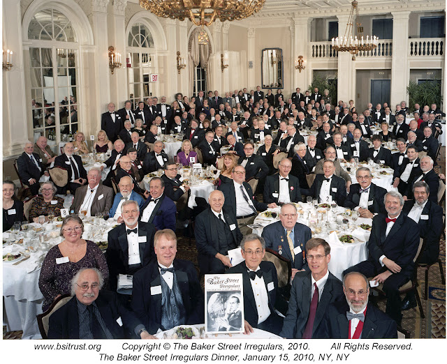 The 2010 BSI Dinner group photo