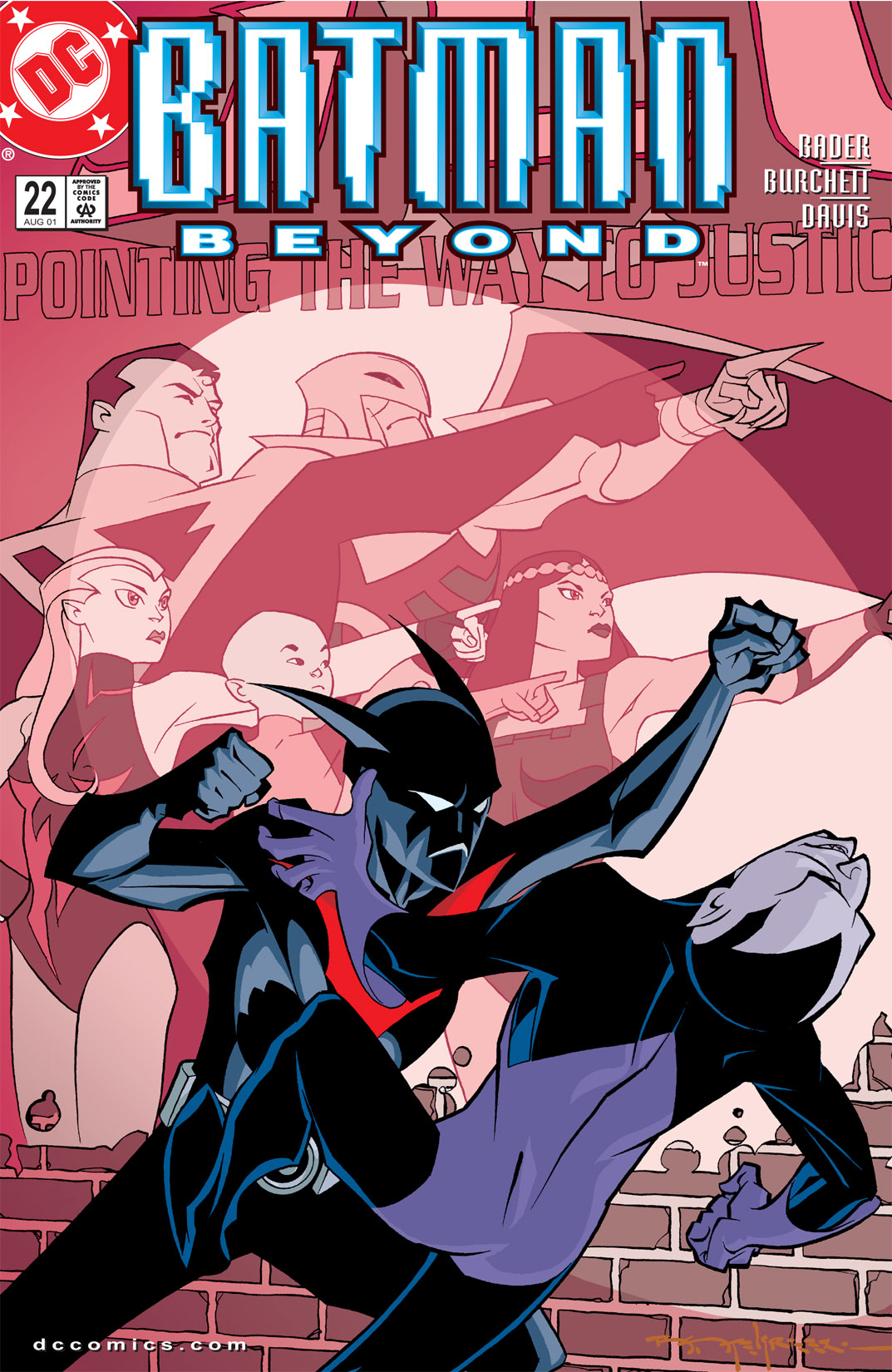 Batman Beyond [II] 22 Page 1