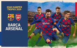 مباشر مشاهدة مباراة برشلونة وارسنال بث مباشر 4-8-2019 كاس جوهان غامبر يوتيوب بدون تقطيع