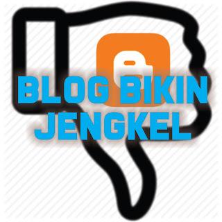 Tipe blog yang sangat tidak disukai pengunjung