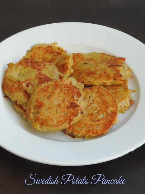 Swedish Potato Pancake