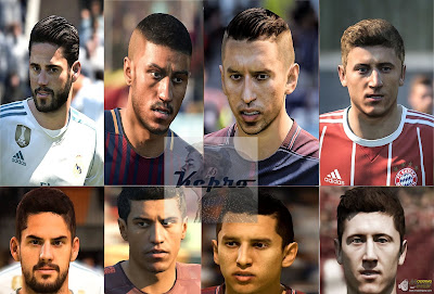 FIFA 18 Faces v2 by KeproFIFA