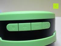 Tasten: OUTAD 2-in-1 Outdoor Wireless Bluetooth Lautsprecher & LED Lampe mit eingebautem Mikrofon, einstellbarem Licht und Broadcom 3.0