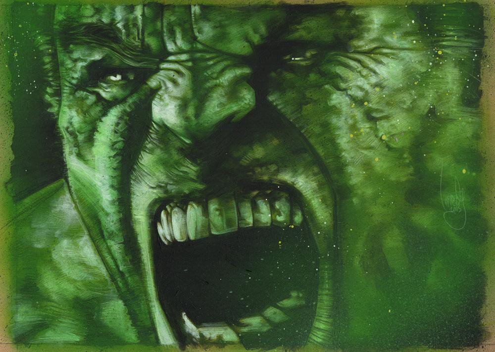 Original Hulk Artwork Copyright © 2015 Jeff Lafferty