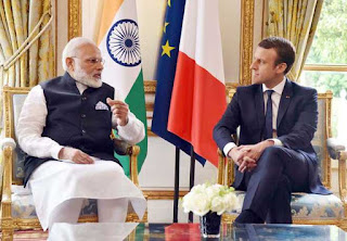 modi-call-on-to-urges-strengthen-france-relations