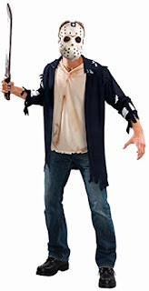 Friday the 13th, Jason, Halloween Costume, Horror Movie Halloween Costume, Stephen King Store