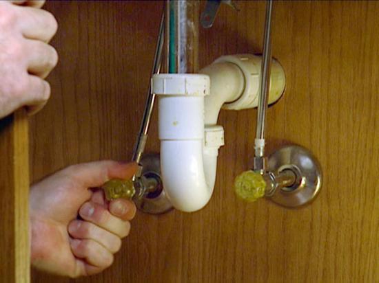 Kitchen Sink Shut Off Valve