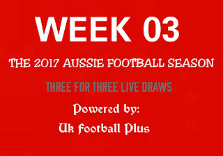 Week 03 Aussie football fixed draws