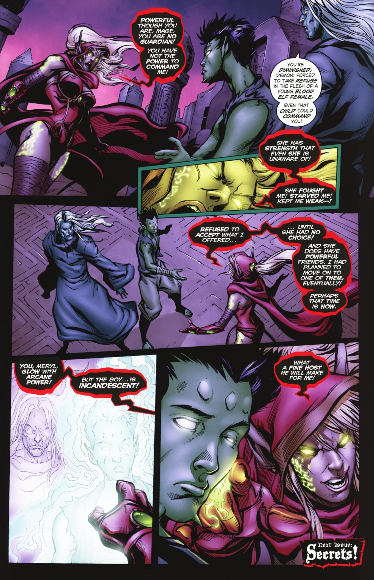 Read online World of Warcraft comic -  Issue #20 - 22
