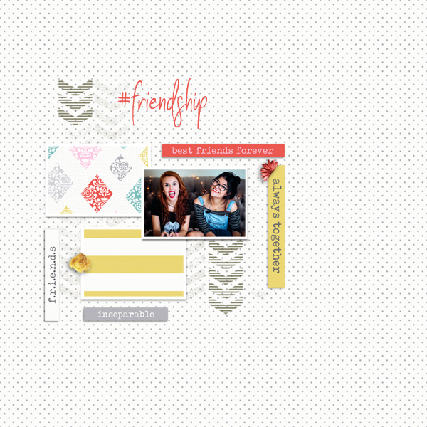 friendship © sylvia • sro 2018 • be inspired 3 by dunia designs