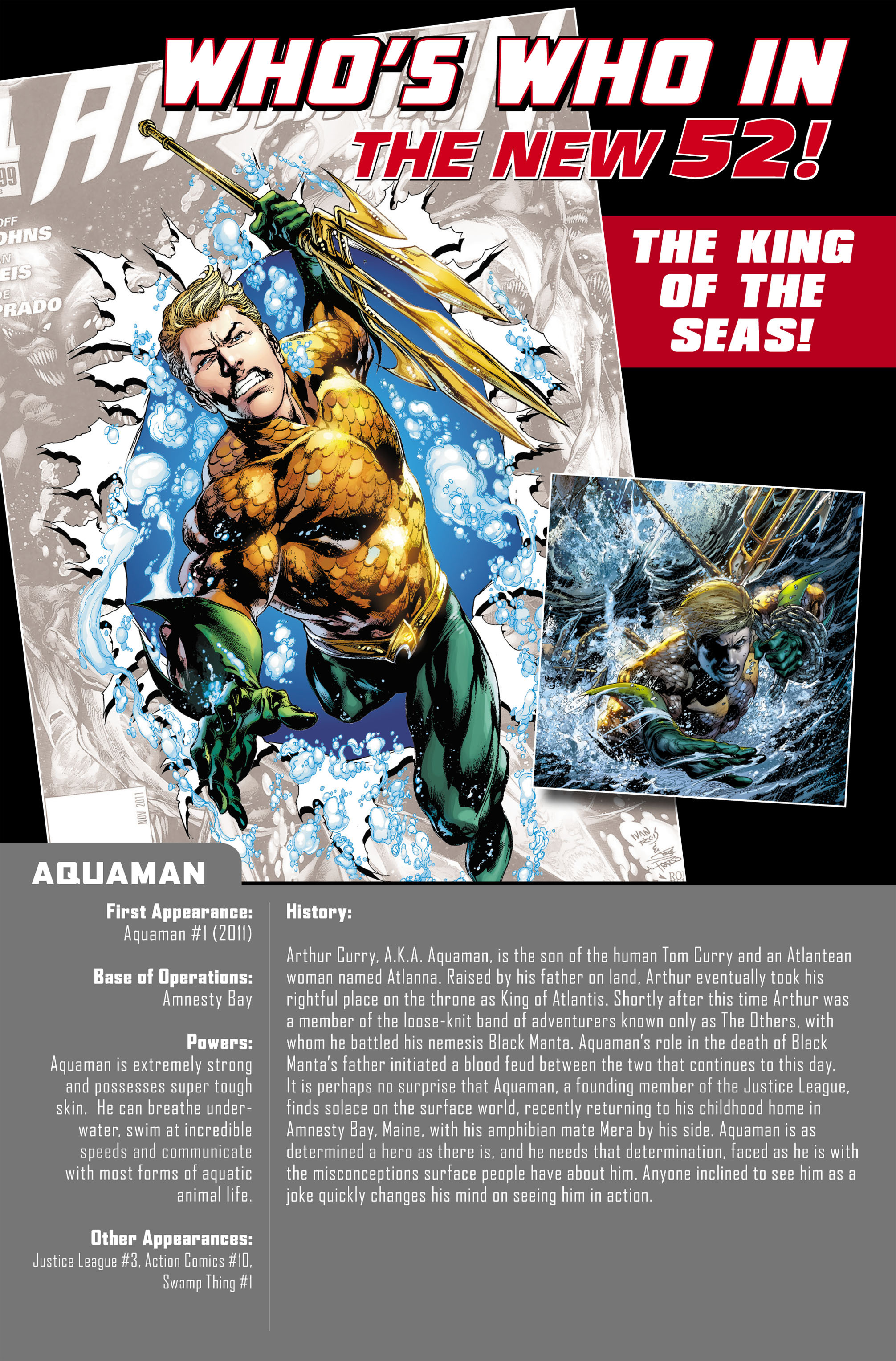Read online Aquaman (2011) comic -  Issue #0 - 22