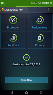 AVG Antivirus Pro Versi 4.4 for Android