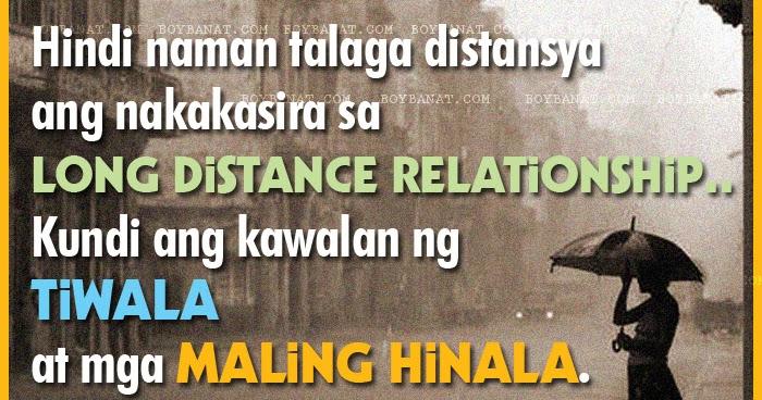Image of: Tagalog Boy Banat Pinoy Long Distance Relationship Love Quotes And Sayings Boy Banat