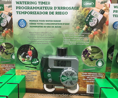 Save water and money with the Orbit Watering Timer
