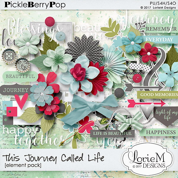 This Journey Called Life, $1.00 Each + FWP + Freebie