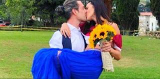 Ηθοποιός σειράς του Alpha παντρεύτηκε κρυφά -Ενας ανατρεπτικός γάμος στα κόκκινα-μπλε