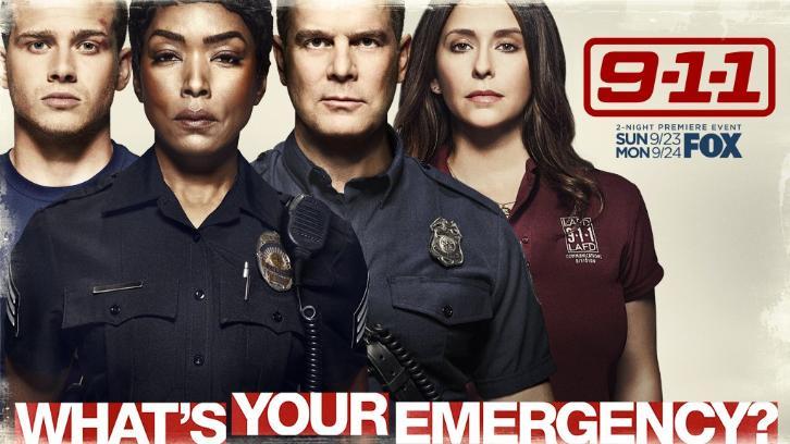 9-1-1 - Season 2 - Promos, Cast Promotional Photos, Featurette + Key Art