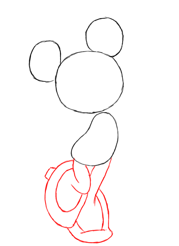 How To Draw Minnie Mouse Draw Central