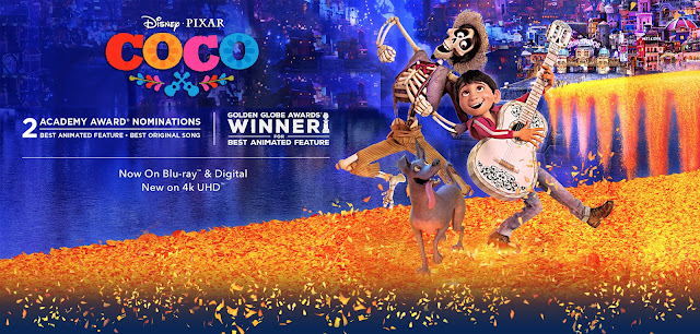 Coco 2017 720p BluRay Dual Audio [Hindi + English] x264
