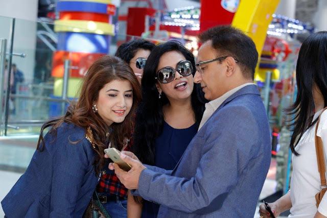 L to R - Mallika Jain, Kajoli Sahgal, Jc Deejay