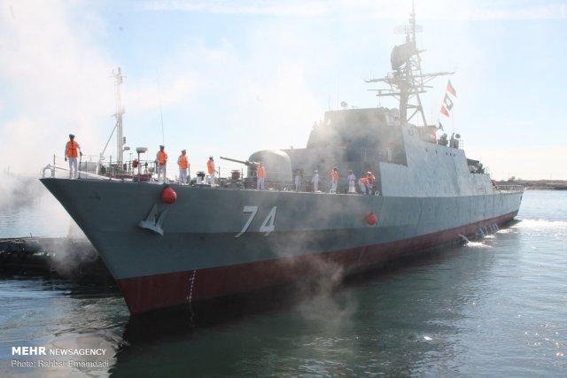 Irán enviará tres buques de guerra a aguas venezolanas durante 5 meses para enfrentar al imperio