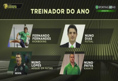 Sporting elege treinador do ano sem ele estar sequer nomeado (video)