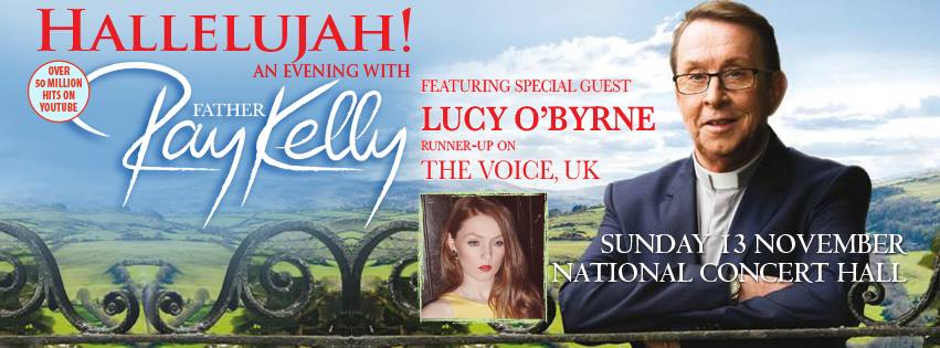 Father Ray Kelly News Hallelujah An Evening With Father Ray Kelly