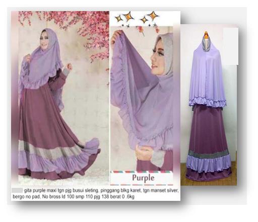 Baju Gamis Busana Muslim Trend 2016 Terbaru Model Baju