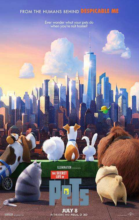 Poster The Secret Life of Pets (2016) Full HD Movie Download Hindi Dubbed