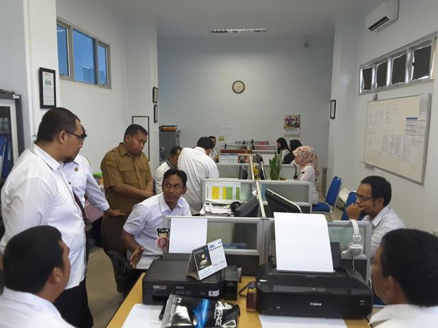 Pejabat BKD Tapsel Dalami E-Kinerja PNS