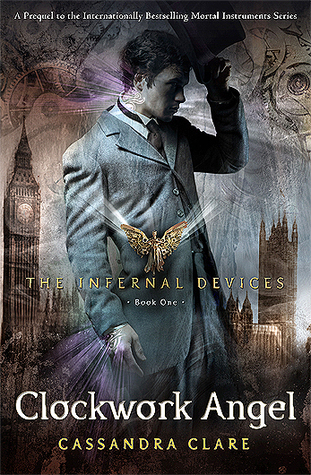 Clockwork Angel by Cassandra Clare book cover Journey Through Fiction