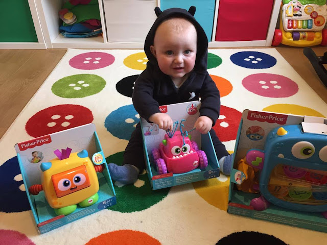 FISHER PRICE'S NEW MONSTER RANGE
