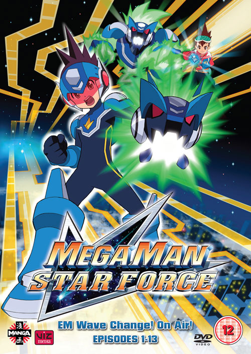 Amazon discounts mega man star force dvd set