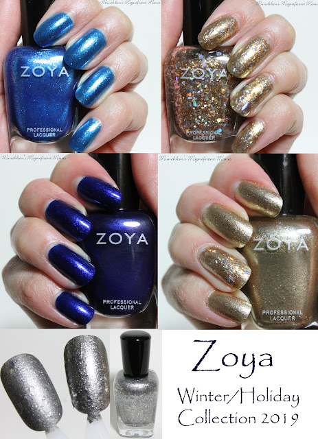 Zoya Twinkling Winter/ Holiday 2019 Collection