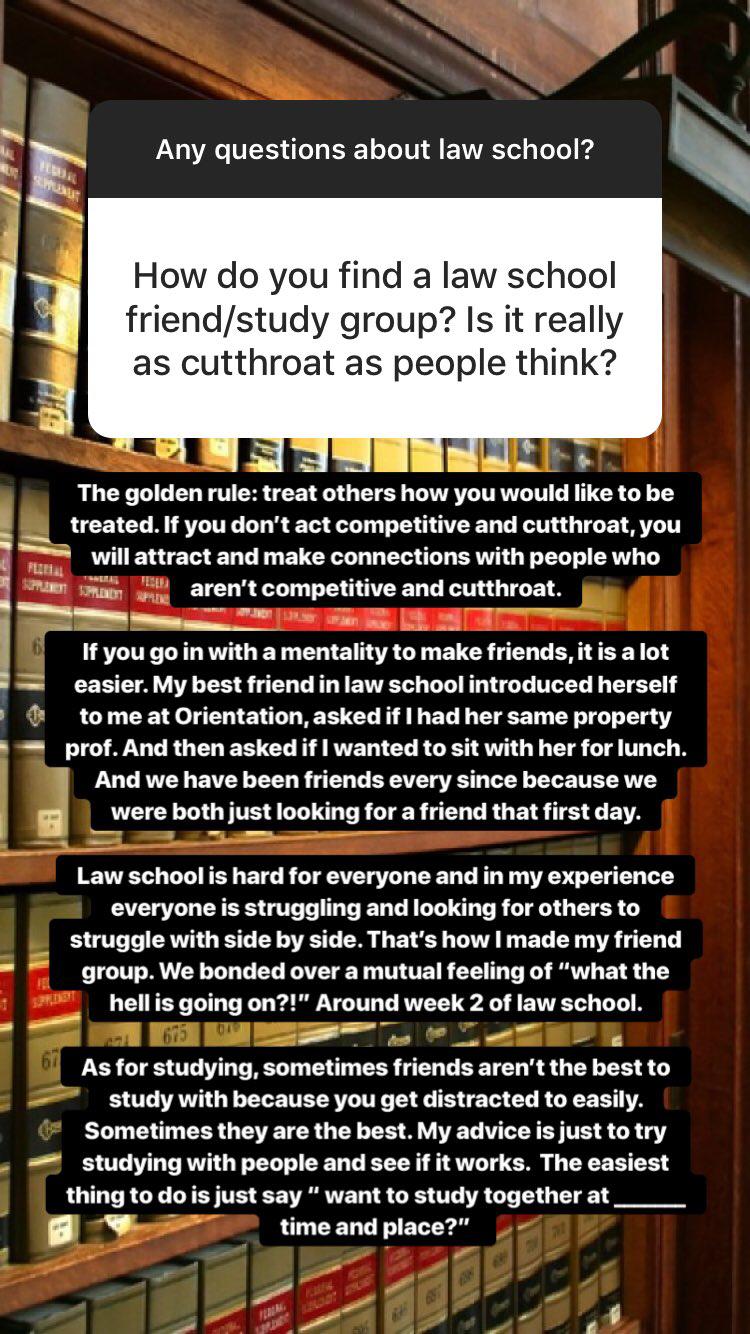 Law School Q & A - The Legal Duchess