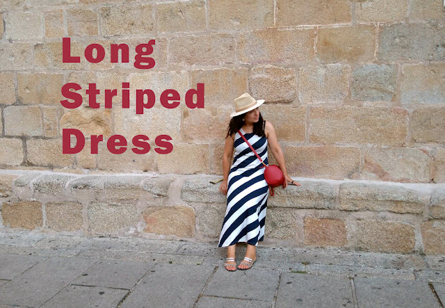 long-striped-dresses